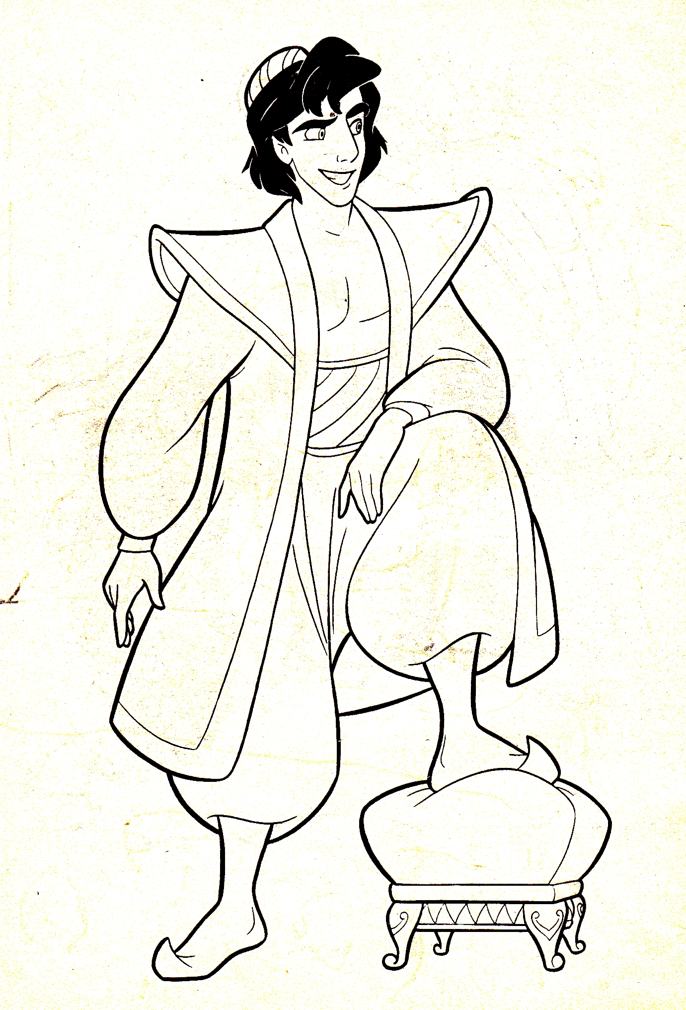 disney prince phillip coloring pages - photo#7