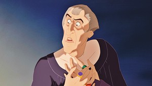 Walt Дисней Screencaps - Judge Claude Frollo