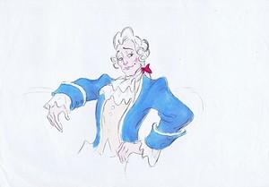 Walt ディズニー Sketches - Gaston