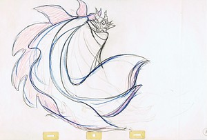 Walt Disney Sketches - Maleficent