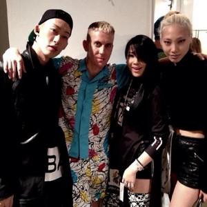 Xin, Jeremy Scott, Soo Joo and CL (130916)