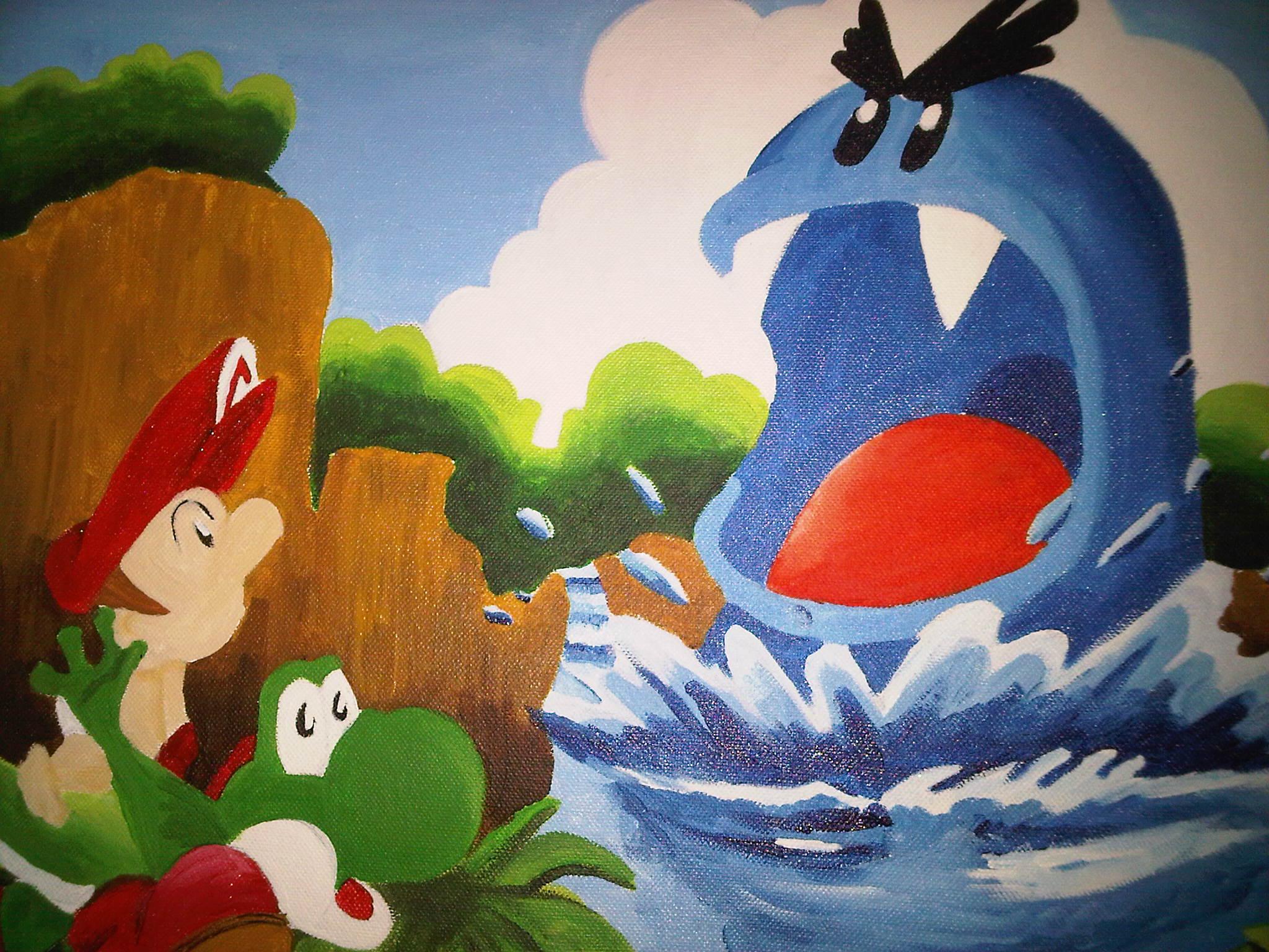 yoshi yoshi wallpaper 35732880 fanpop
