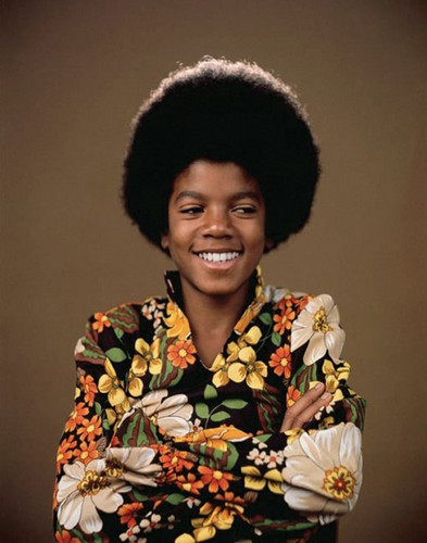 michael jackson wallpaper containing a quimono titled Young Michael