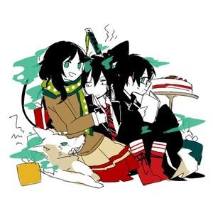 Yuri, Yukio, and Rin