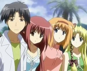Zack, Rene, Maxine, and Rosie
