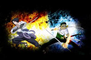 Zoro vs Sasuke