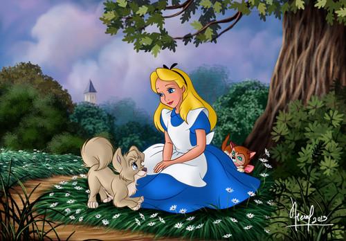 不思議の国のアリス 壁紙 entitled alice in wonderland