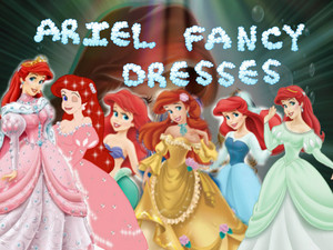areil fancy dress