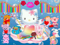 back to school love - hello-kitty fan art