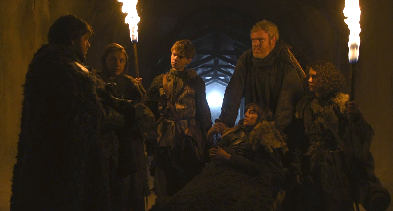 bran with meera, jojen, sam and gilly - Bran Stark Photo ...