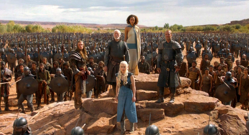 daenerys and army - daenerys-targaryen Photo