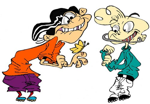 Ed, Edd and Eddy پیپر وال probably with عملی حکمت entitled ed edd n eddy