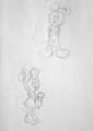 minnie - minnie-mouse fan art