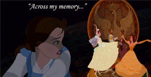 """Across my memory..."""