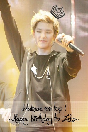 ♣ Happy Birthday Maknae Zelo ♣