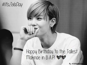 ♣ Happy Birthday Maknae Zelo ♣