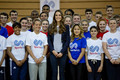 .Kate Middleton Plays Volleyball at Olympic Park  - prince-william photo