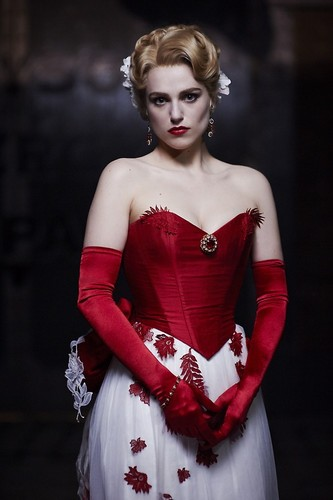 Dracula NBC fondo de pantalla probably with a cóctel, coctel dress and a cena dress called Lucy Westenra