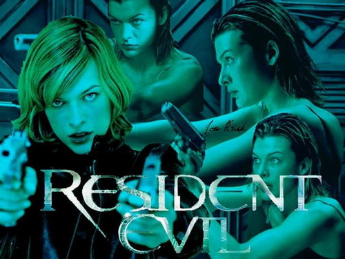 Resident Evil Movie wallpaper titled  Resident Evil