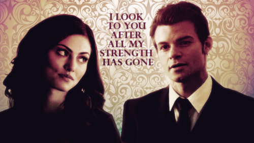 "Elijah & Hayley wallpaper containing a business suit and a suit entitled ""Right now you're the most important person in this family."""
