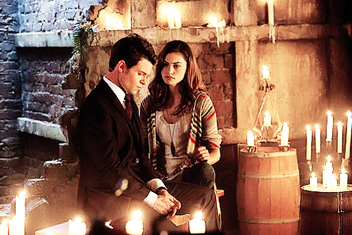 "Elijah & Hayley wallpaper containing a candle and a fogo entitled ""[…] You need a good home."""