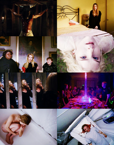 Aмериканская история ужасов Обои possibly containing a bouquet and a sign entitled → ahs coven / 3x01