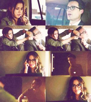 """oh my god, super spy is ticklish."" - 1x04."