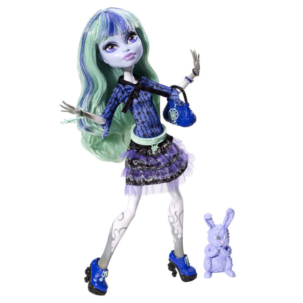 Monster High 13 Wishes 13 Wishes Twyla dollMonster High Dolls 13 Wishes Abbey