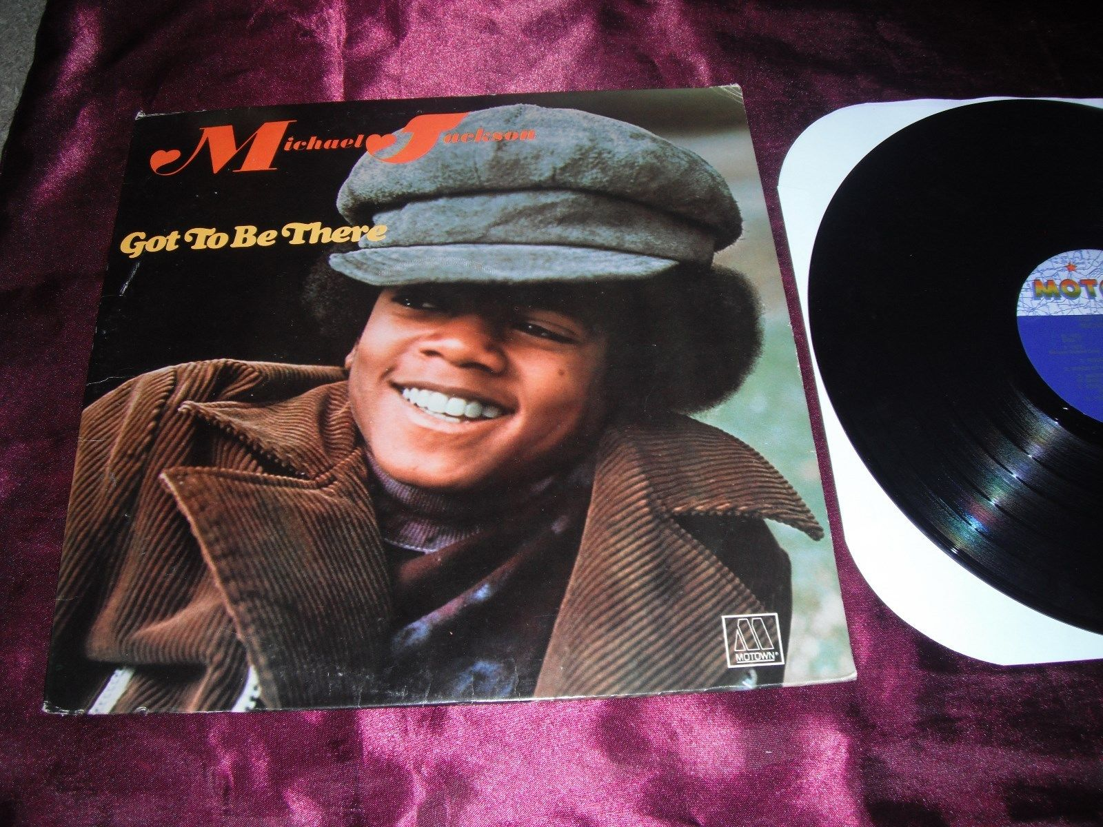 """1971 Motown Michael Jackson Release, """"Got To Be There"""""""