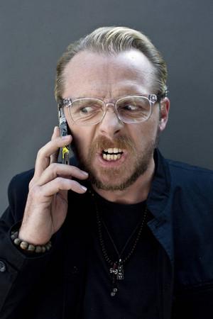 20130828 - London - Simon Pegg for ' The Times ' door David Bebber