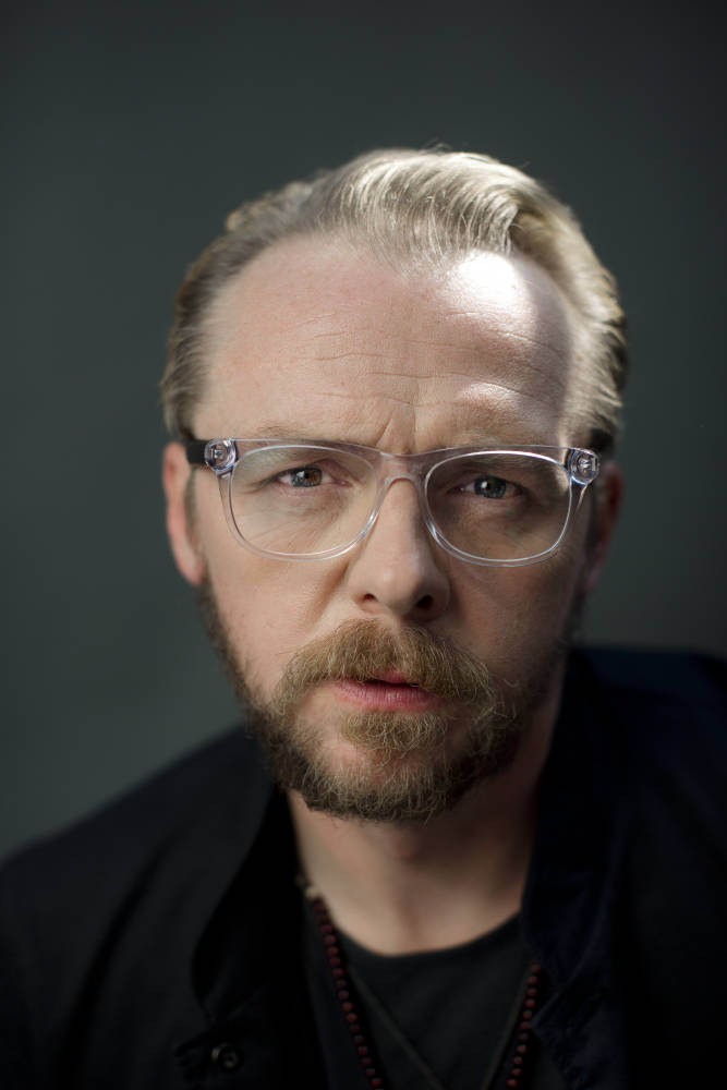 20130828 - London - Simon Pegg for ' The Times ' by David Bebber