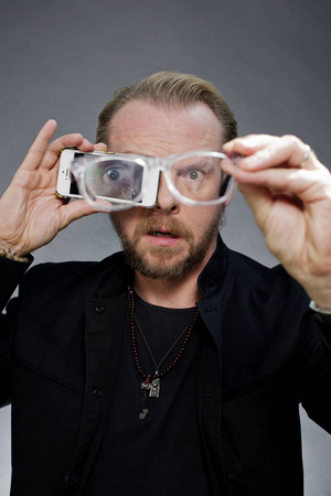2013 08 28 - London - Simon Pegg for ' The Times ' Von David Bebber