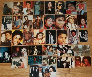 A Collection Of Photographs Of Michael Jackson
