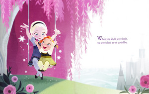 A Sister zaidi Like Me Book Illustrations