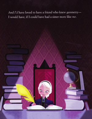 A Sister More Like Me Book Illustrations