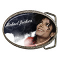 A Vintage Michael Jackson Belt Buckle - michael-jackson photo