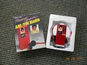 A Vintage Michael Jackson Transistor Radio