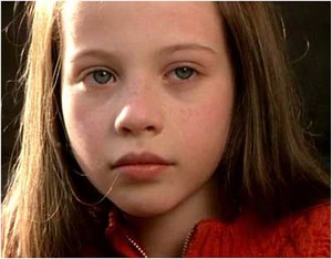 A young Michelle Trachtenberg