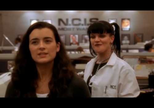 Abby Sciuto wallpaper containing a portrait called Abby and Ziva