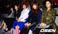 AfterSchool JungAh, Juyeon,Uie,Raina,Nana and Lizzy at S/S Seoul Fashion Week