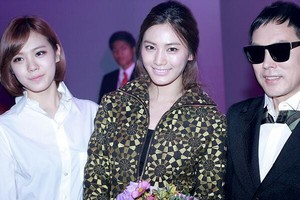 After School JungAh, Juyeon,Uie,Raina,Nana and Lizzy at S/S Seoul Fashion Week