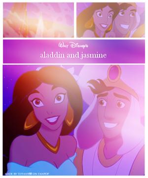 aladdin and melati