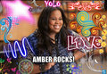Amber Rocks - glee fan art