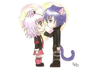 Amu and Ikuto