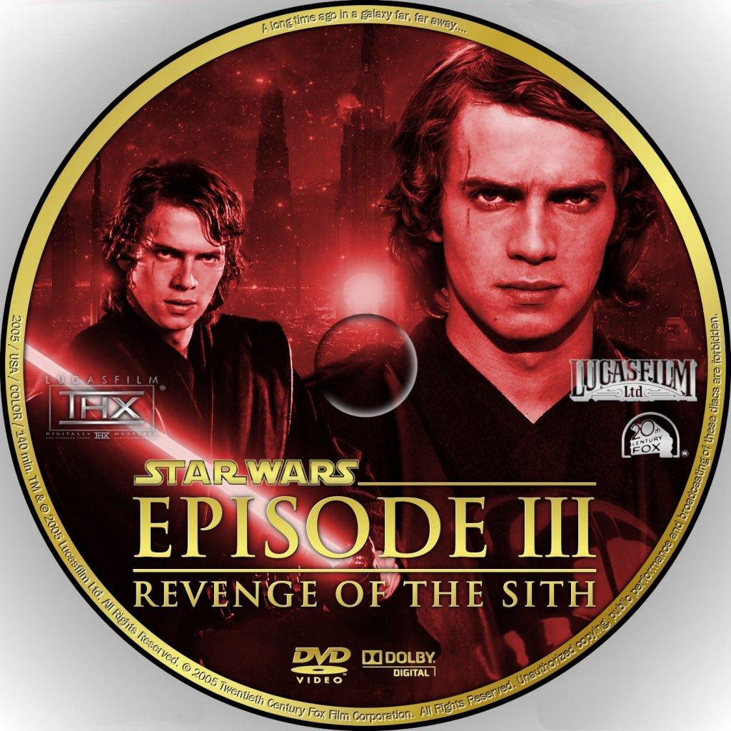 Anakin on a CD