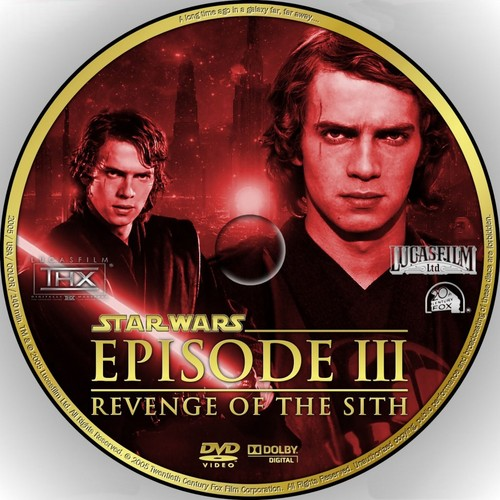 bintang Wars: Revenge of the Sith wallpaper entitled Anakin on a CD