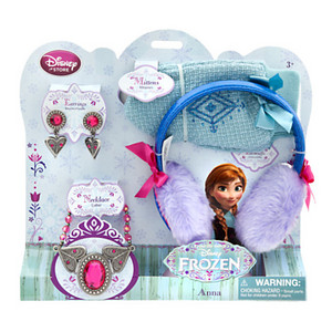 Anna Costume Accessories Set