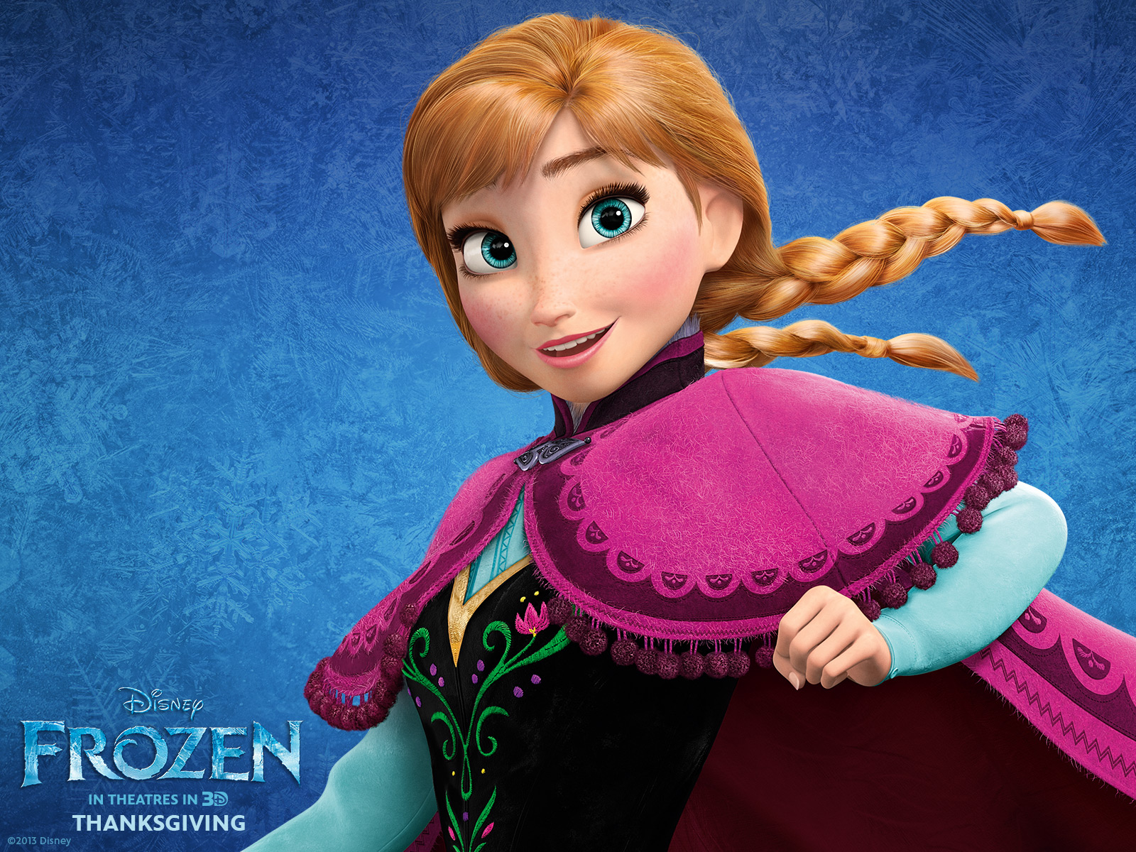 Anna standard wallpapers frozen wallpaper 35894600 fanpop - Frozen anna disney ...