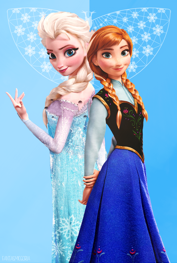 Anna And Elsa Picture Printable | New Calendar Template Site