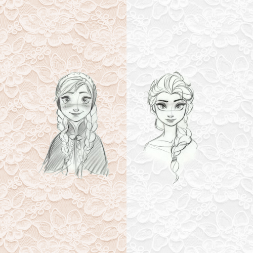 Princess Anna wallpaper titled Anna and Elsa